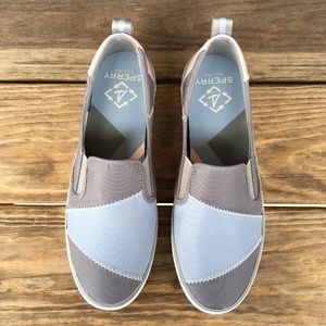 NEW Sperry Crest Twin Gore BIONIC Slip On Sneakers